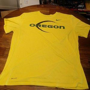 Nike Oregon Ducks Football Dri-Fit T-SHIRT